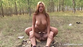 Busty chick pleasing with her big tits passionately.mp4