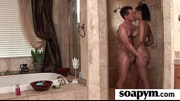 soapy rubdown for him 12