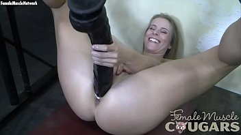 beefy mature blond large faux penis.