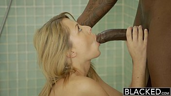 BLACKED Cheating Blonde GF Zoey Monroe Barely Takes BBC in Her Ass