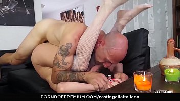 casting alla italiana - anal foray penetrate and.