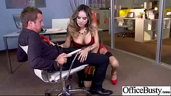 xxl-titted office chick nadia styles rip up rock-hard.