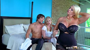 brazzers - mummy and daughter-in-law share.